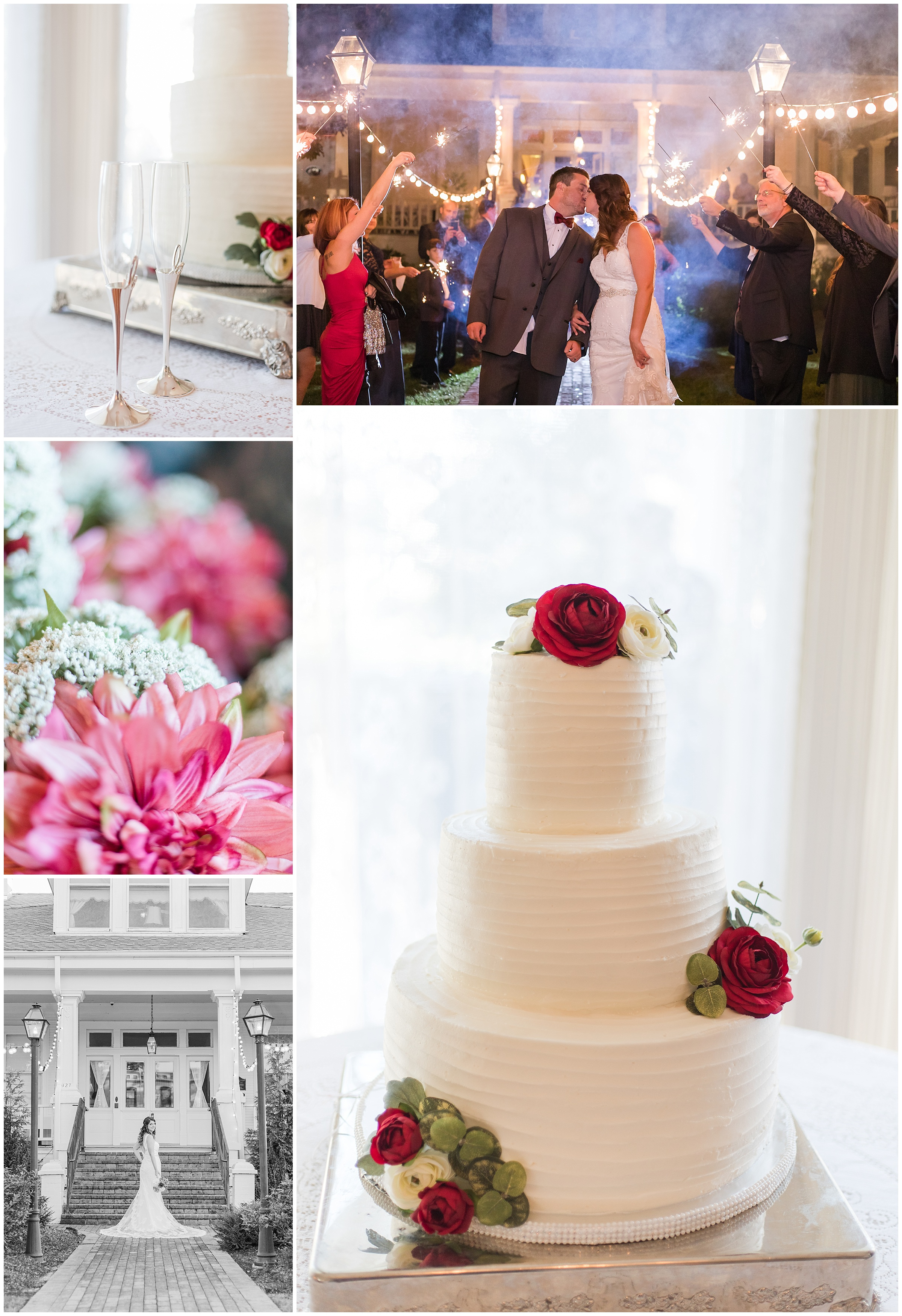 Bridget + Chad | A Perfect Fall Wedding at The Salmen-Fritchie House