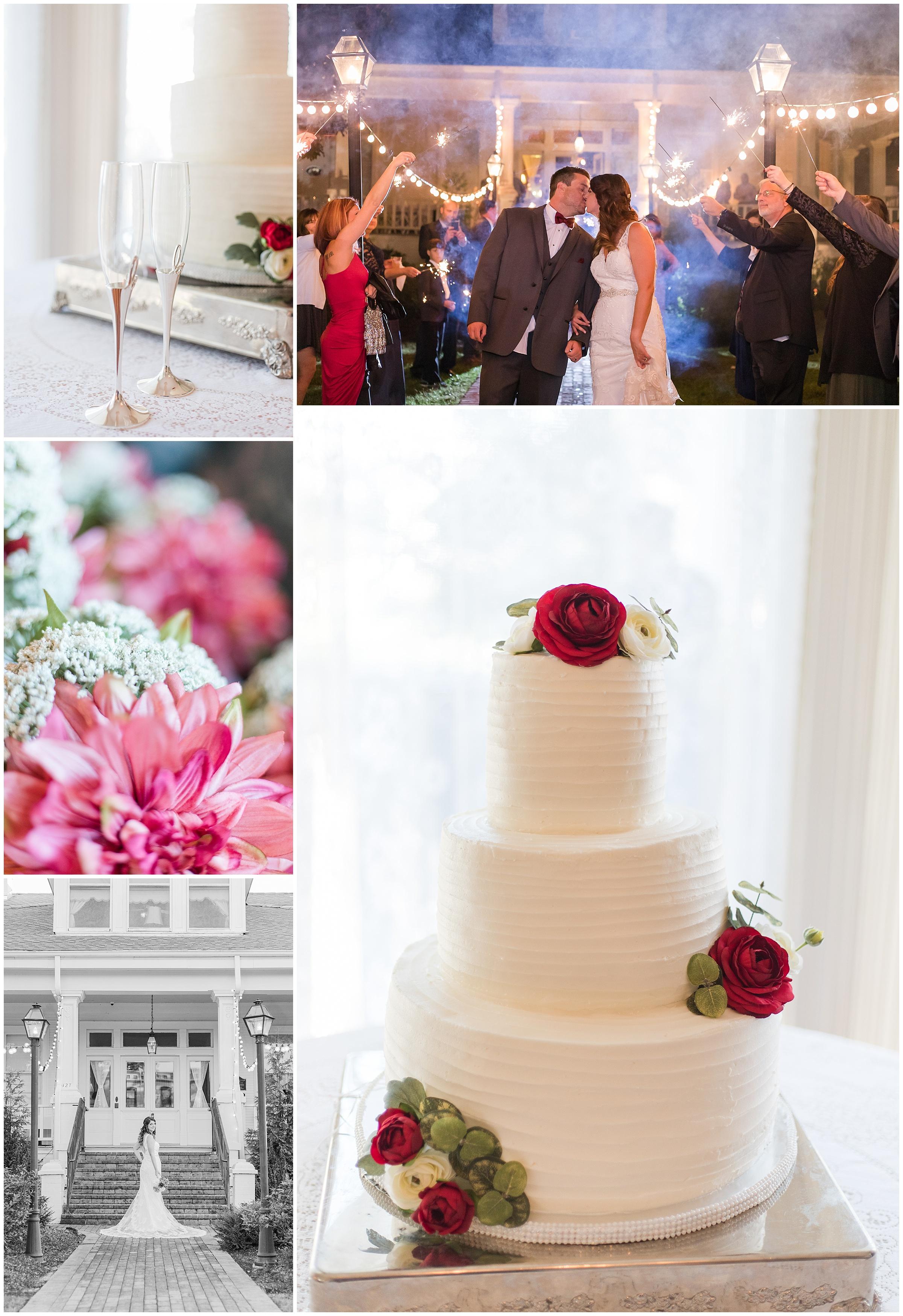 Bridget + Chad | A Perfect Fall Wedding at The Salmen-Fritchie House